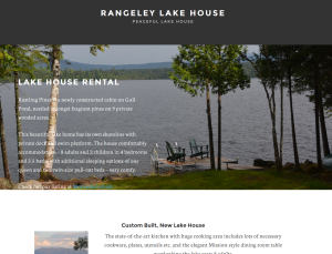 rangeley single parents Rangeley- the rangeley lakes region historical society has received a generous $10,000 grant from the h king & jean cummings charitable fund.